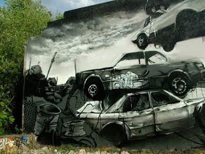 Graffiti design Graphic Art On the Wall