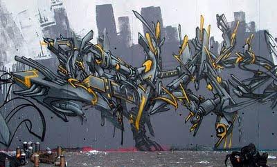 Making Graffiti Arrows on The Wall