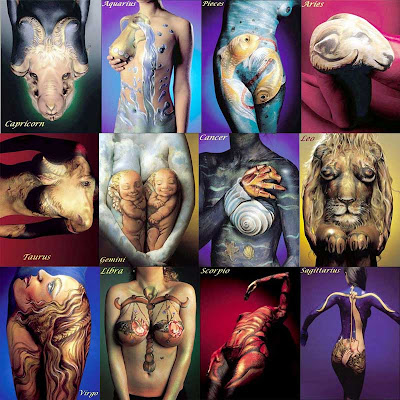 Zodiac Tattoos Paint