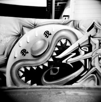 Japanese Street Art Graffiti