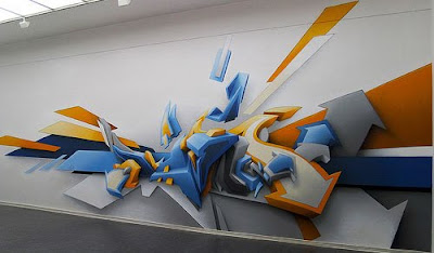 3D Graffiti Alphabets Street Art