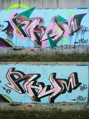 3D Graffiti Alphabets Street Art