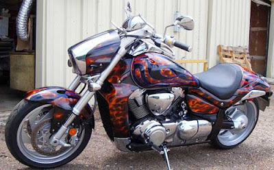 Motorcycle Paint Airbrush