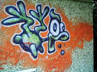 duck graffiti characters
