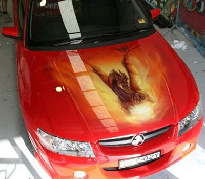 Airbrush Car Modification photo