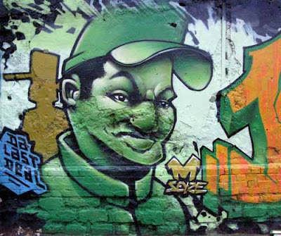 Graffiti Character Hip Hop