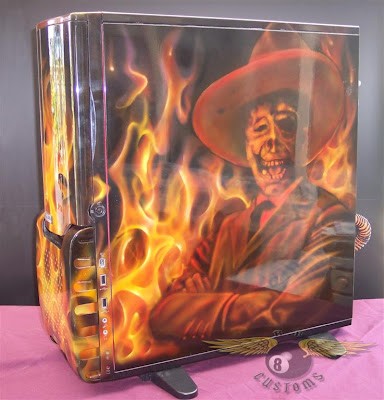 skull fire pc airbrush