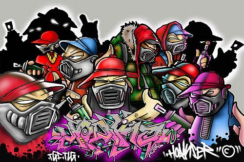 wallpaper graffiti hip hop. Graffiti HIp HOp Character