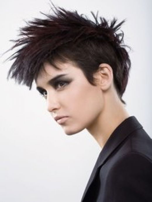 Punk hairstyling began its life in the UK in the 1970s. Such hairstyles were