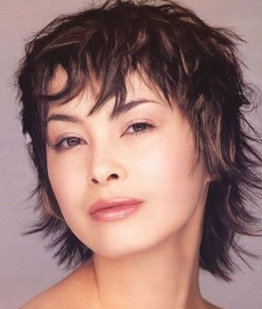 short hair styles for thick hair women. Trendy short hairstyles, long