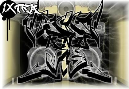 graffiti alphabet styles 3d
