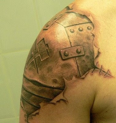 Cool Biomechanical Tattoo Designs 3