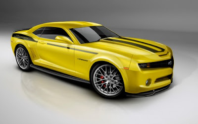 New Car Sport and Fast Chevrolet Camaro Waallpaper