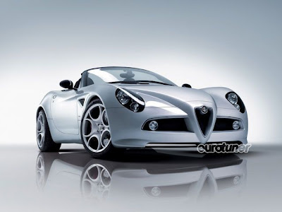 Sports Cars Alfa Romeo 8C