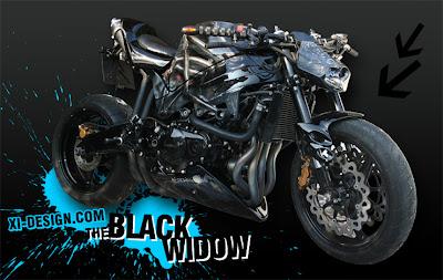 Honda CBR Sport Motorcycle Airbrush