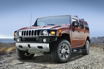 HUMMER H2 Black Chrome Limited Edition Wallpaper