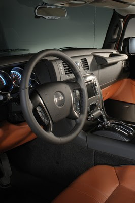 HUMMER H2 Black Chrome Limited Edition Interior
