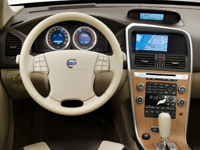 Volvo XC60 SUV Car Interior