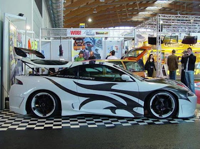 Mitsubishi 3000GT Tribal Airbrush Designs