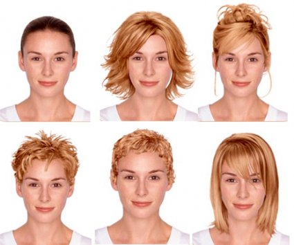 With the online application of Clairol you can upload your own image