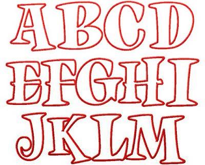 Modern Graffiti Alphabet Letters 4