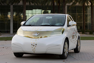 Toyota FT-EV Electric Car 2