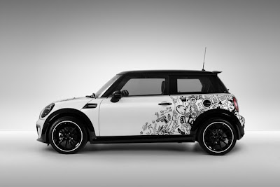 Mini Cooper Car Tribal Airbrush 1