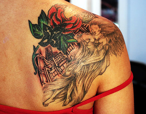 Shoulder Tattoo. For starters, you might need to change the way you are