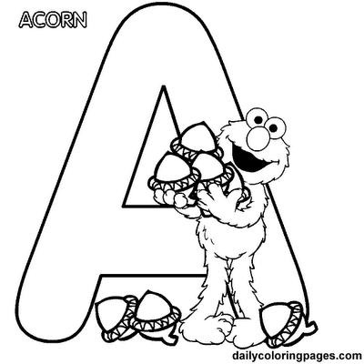 Printable Graffiti Alphabet Bubble Letters A