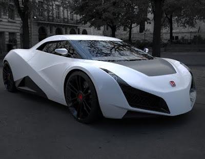 2011 Honda RA X Concept Sports Car 6
