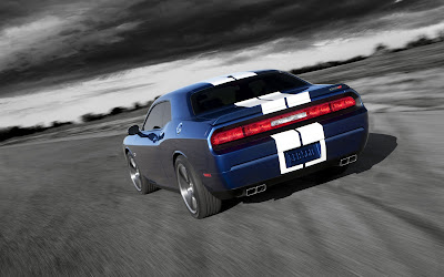 Fast Car Dodge Challenger SRT8 392 2