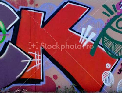 Graffiti Alphabet Letter K Designs 5