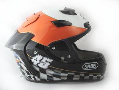 Martin Bauer's Helmet SHOEI Airbrushed Designs 3