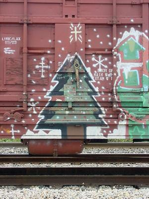 2011 Christmas Graffiti Art Gallery Designs 4