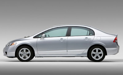 Honda Civic Hybrid Silver Pictures 3