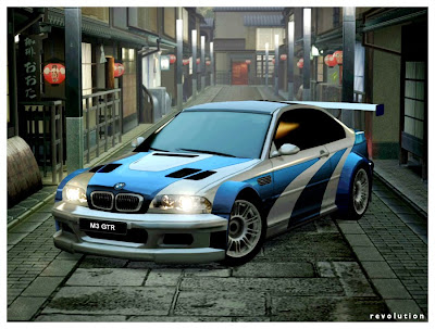 BMW M3 GT4 Airbrush Car Modification 1