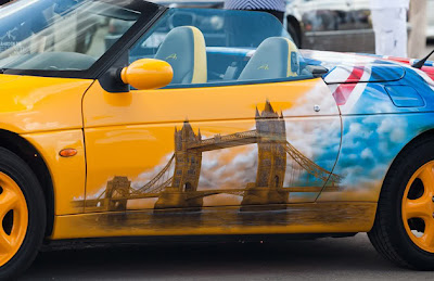 10 Amazing Airbrush Car Modification Photography 5