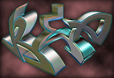 Graffiti 3D Arrow Graphic Designs 2