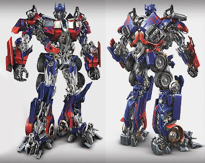 Optimus Prime Airbrush Artwork Design