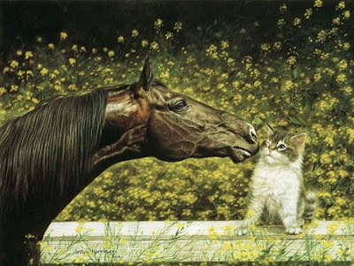 Beautiful horse realistic airbrush artwork 5