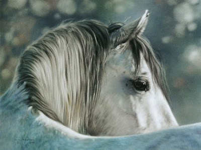 Beautiful horse realistic airbrush artwork 4