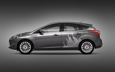 Custom Ford Focus Car Airbrush Artwork 03