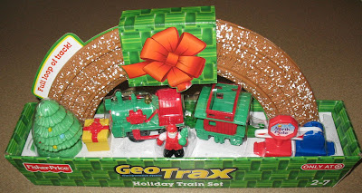 GeoTrax Holiday Train Set