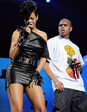 ... the beating she suffered at the hands of then boyfriend, Chris Brown.
