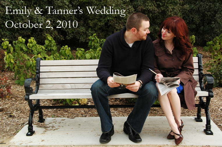 Emily & Tanner's Wedding -- October 2, 2010