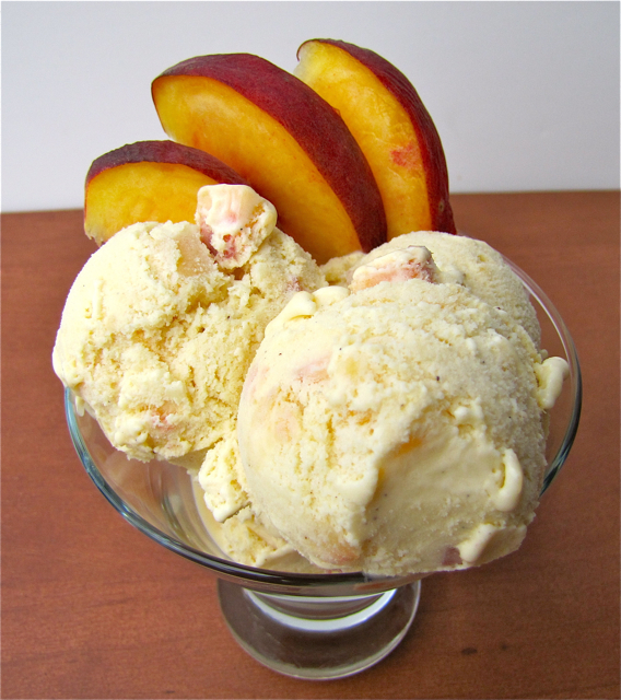 ... Kochen Und Backen Adventures: Ice Cream Fridays: Honey Peach Ice Cream