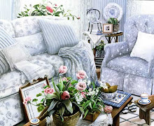 Parlor set I ordered for our cozy nest...