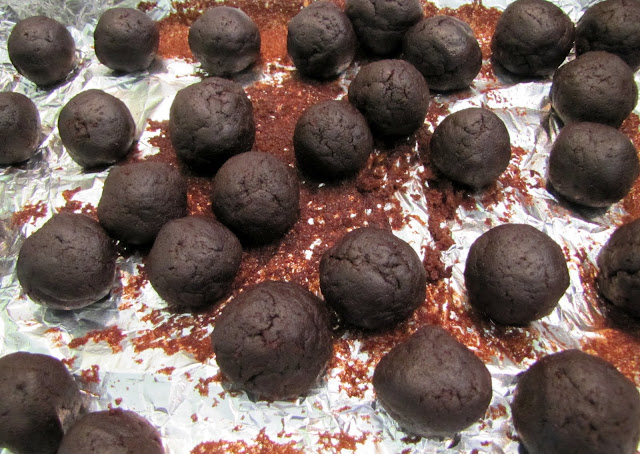 chocolate cake balls recipe. Now we prepare the chocolate