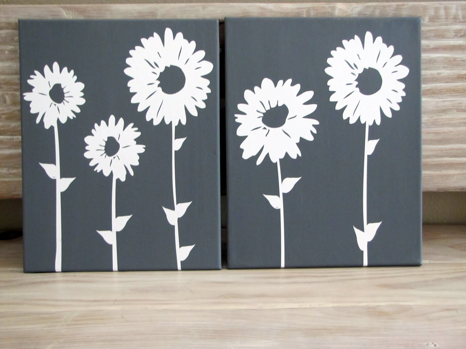 Vinyl Wall Art Canvas Tutorial Craft Little Miss Momma