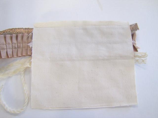 Браслет-манжета из ткани, лент и кружев IMG_8375